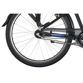 "Puky Crusader City Light 24"" - Vélo enfant - 3-cours bleu/noir"